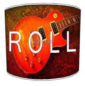 Lampshades Ideal To Match Rock`n`Roll Fifty's n Sixty's Duvets Music Mural