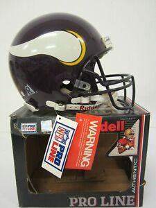 Minnesota Vikings Riddell Pro Line Authentic Full Size Football Helmet