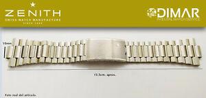 Replacement Bracelet Original Zenith, Steel REF.002