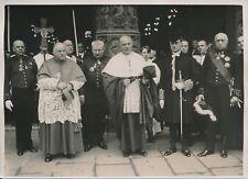 PARIS c. 1930 -Cathédrale Notre Dame Cardinal Verdier Gradés Militaires- PRM 233