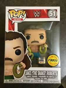 Funko Pop! Jake The Snake Roberts #51 Chase 2017 Limited