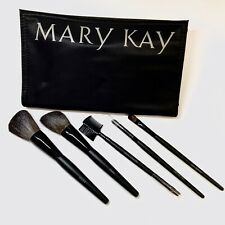 Mary Kay Brush Collection Pinsel Set, Pinselset mit Kosmetiktasche, 5 tlg., NEU