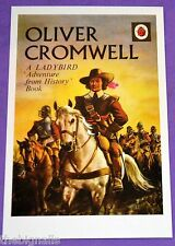 OLIVER CROMWELL Ladybird Book Cover Postcard NEW