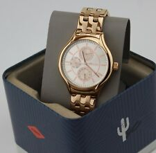 NEW AUTHENTIC FOSSIL MULTIFUNCTION ROSE GOLD WOMEN'S BQ1581 WATCH