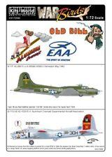 KIT-mondo Decalcomanie 1/72 B-17 FLYING FORTRESS # 72090