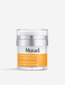 Murad City Skin Overnight Detox Moisturiser 50ml New in sealed box RRP £70