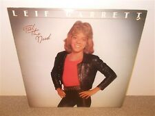 * Leif Garrett . Feel the Need . With Collector Cards Uncut Sheet . LP