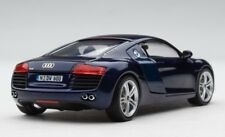 Schuco 1:43 | Audi R8 Sports Car | Finished in Mugello Blue | # SHU04794