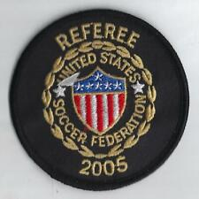USA  Referee For Soccer Federation 2005 Sewn On Patch