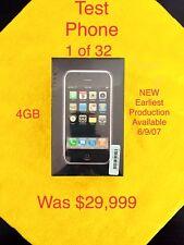 NEW Apple iPhone 1st Gen - 4GB - Black (Unlocked) A1203 (GSM)