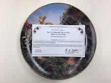 "M.J. Hummel,Collectors Plate, Little Companions, Danbury ""Apple Tree Boy & Girl"""
