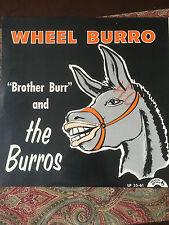 Brother Burr and the Burros Wheel Burro Polka LP Record Album Minnesota Waltz