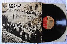 NCCP*– Nuova Compagnia Di Canto Popolare LP Gatefold