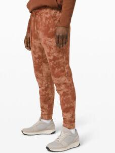 Lululemon Men's Size XL City Sweat Jogger Terra Clay ADTS Terry Pants Classic
