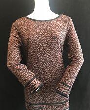 BNWT MICHAEL KORS MF75L5FF7TF  Ladies Walnut Top Amazon £95 SAVE £20 Size L UK14