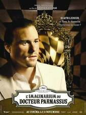THE IMAGINARIUM OF DOCTOR PARNASSUS Movie POSTER 27x40 E Johnny Depp Heath