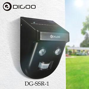 Digoo Solar Motion Sensor Wireless PIR Security Outdoor Garden Wall LED Light