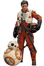 New KOTOBUKIYA ARTFX+ Poe Dameron & BB-8 2 Pack The Force Awakens Ver. Star Wars