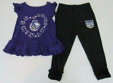 Outerstuff NBA Kids Team Love Ruffle Shirt and Pant Set