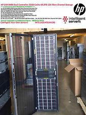 HP EVA8400 22GB Cache Dual Controller 64.8TB Fibre SAN Storage Configuration