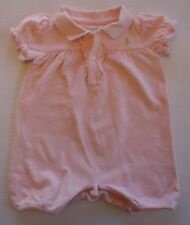 Girls 6 Months Pale Pink Ralph Lauren One-piece Romper Outfit
