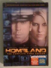 HOMELAND the complete first season  DVD NEW light slipcover edge wear