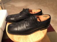 Sandro Moscoloni Morello Black Men's US10 Leather Spain Square Toe Oxfords Shoes