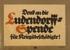 Think about the Ludendorff, German WW1 Propaganda Poster