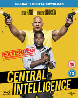 Central Intelligence Blu-Ray (2016) Dwayne Johnson, Marshall Thurber (DIR) cert