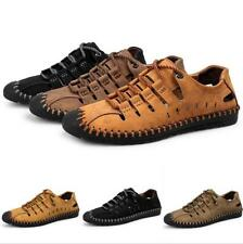 Summer Mens Lace Up Sports Casual Outdoor Beach Walking Sandals Flats Plus Size