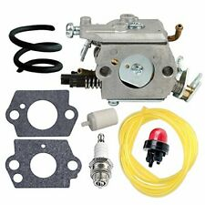 Carburetor + Fuel Line Filter Tune Up Kit for Husqvarna Trimmers (C1Q-El24)