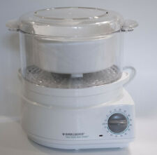 Black and Decker Hs800 Handy Steamer Plus Food Steamer and Rice Cooker