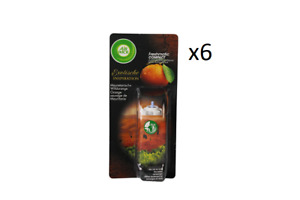6 x 24ml Airwick Freshmatic Compact Refills. Mauritania Wild Orange. Rare!!!