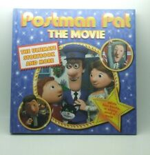 POSTMAN PAT THE MOVIE HARD BACK BOOK USED IN EXCELLENT CONDITION