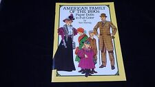 1987 American Family of 1890's Paper Dolls by Tom Tierney