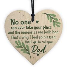 Dad Graveside Memorial Remembrance Heart Grave Plaque Cemetery Garden Signs