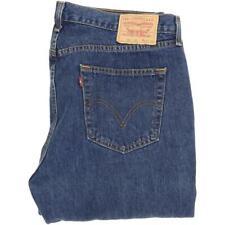 Levi's 751 Men Blue Straight Regular Jeans W40 L30 (51179)