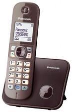 Panasonic Schnurlostelefon KX-TG6811GA Telefon Haustelefon mit Nachtmodus