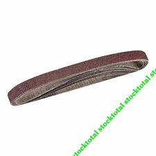 30 Bandas lija 13x457 mm -BOLSA 5 pzas Compatible todas las lijadoras de  950457