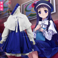 Cosplay Anime Cardcaptor Sakura Daidouji Tomoyo Bowknot Dress Sweet Lolita Dress