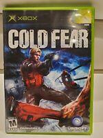 Cold Fear (Microsoft Xbox, 2005) CIB - Mint Condition