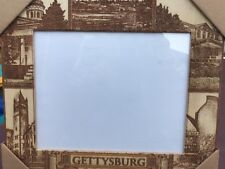 """gettysburg college Picture Frame Wood 13.5"""" X11.5"""""""