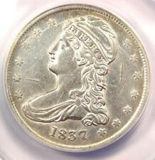 1837 Capped Bust Half Dollar 50C - ANACS AU50 Details  - Rare Certified Coin!