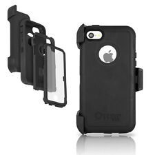 OtterBox Defender iPhone 5C Case & Holster Black Cover w/ Belt Clip OEM Original