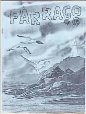 Farrago #6 - 1977 sci-fi fanzine - Roald Dahl profile, Bill Rotsler art