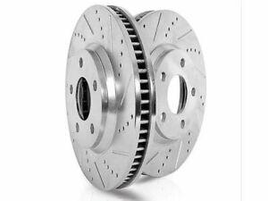 Rear Brake Rotor Set For 08-17 Mercedes E350 C300 C250 C350 E400 E550 RWD CS84C7