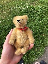 Estate Fresh Rare Miniature Mohair Antique Steiff Bear 5.5�