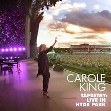 CAROLE KING TAPESTRY: LIVE AT HYDE PARK CD & DVD (September 15th 2017)