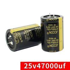 1pcs 47000uf 25v Snap In Electrolytic Radial Capacitor 25v 47000uf 105c 35x50mm
