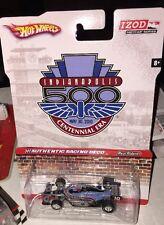 HOT WHEELS IZOD Indycar Series Indianapolis 500 Centennial Real Riders Race Car